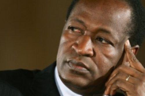 Article : Blaise Compaoré maître en tripatouillage constitutionnel