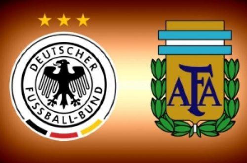 Article : Allemagne-Argentine : « La victoire de la meilleure équipe ! »