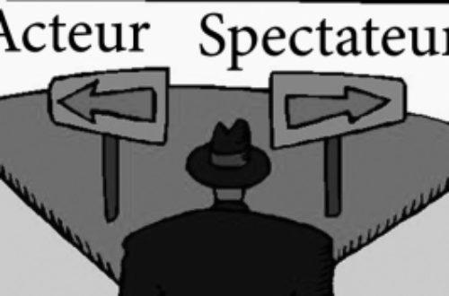 Article : Acteur ou spectateur ?