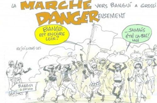Article : La marche vers Bangui a grossi dangereusement
