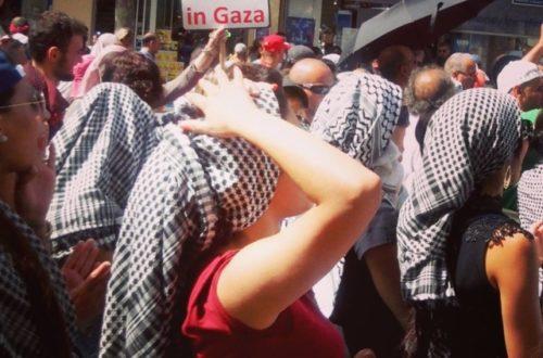 Article : Manifestation à Marseille : «Nous sommes tous des Palestiniens !»