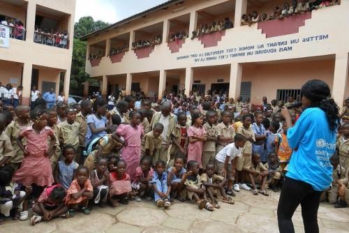 Ebola la conduite à tenir L'Unicef et ses partenaires en session d'information . www.flickr