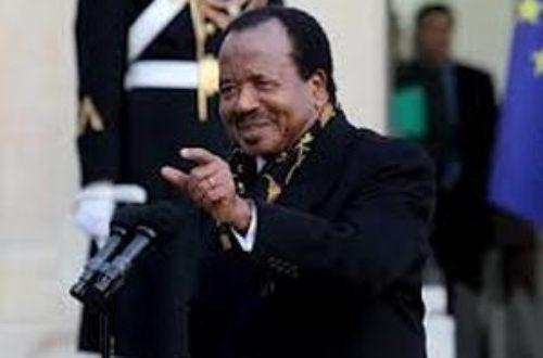 Article : Succession du président Biya : enjeux, acteurs et stratégies