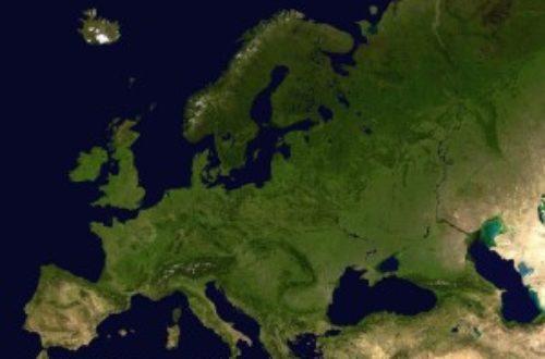 Article : Union européenne : tant qu'elle existe seulement sur Google Maps…