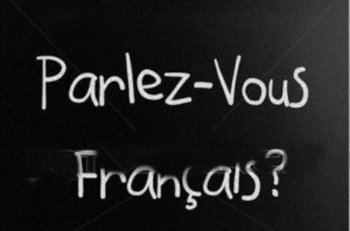 Article : Le togolais et le français !