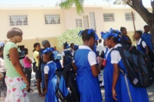 Article : Timide rentrée scolaire à Port-au-Prince