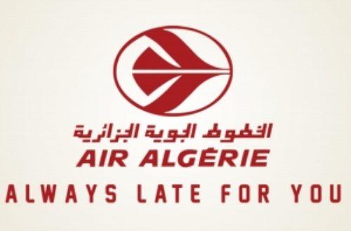 Article : Air Algérie : c'est le brouillard !
