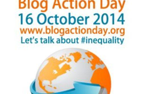 Article : Blog Action Day, contre les inégalités