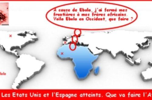 Article : Afrique-Ebola : fermons donc nos frontières à l'Occident