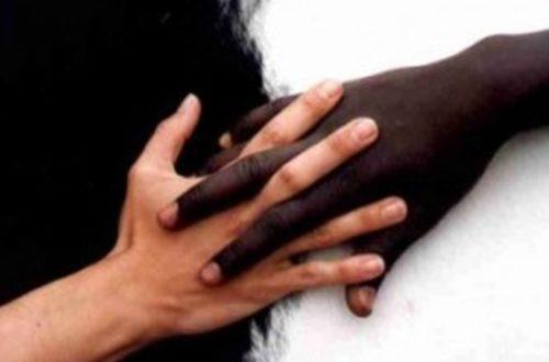 Article : Je suis peut-être raciste…  Ou peut-être qu'ils ne le sont pas!