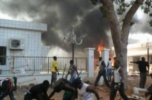Article : Burkina Faso: Blaise a lui-même allumé sa braise