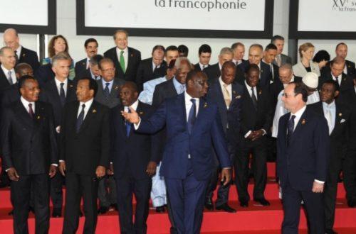 Article : La Francophonie leur va si bien
