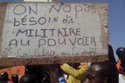 Article : Le jour où le Burkina a eu trois présidents !