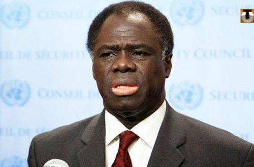 Article : Transition au Burkina: Michel Kafando le candidat de l'armée passe haut la main