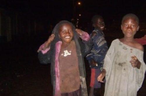 Article : RDC: à Goma les enfants de rue