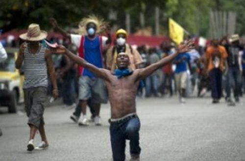Article : Haïti : les manifestants restent mobilisés