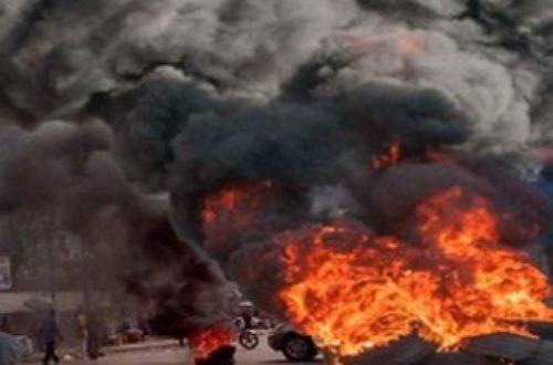 Article : Ils ont brûlé ma voiture !