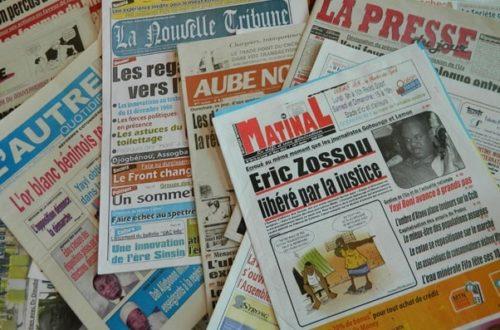 Article : Bénin : les journalistes risquent toujours la prison