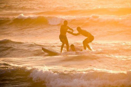Article : Ceux qui peuvent surfer ensemble peuvent vivre ensemble