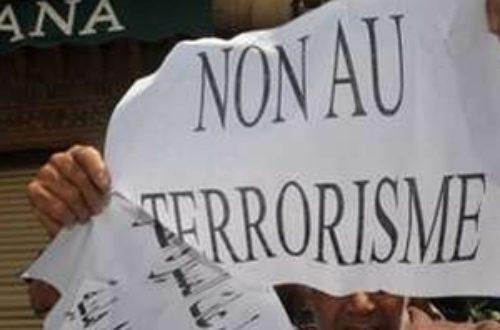 Article : Non au terrorisme