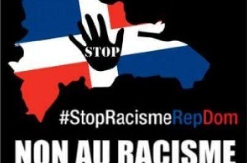 Article : Pour dire NON au racisme des Dominicains