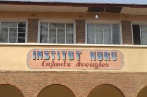 Article : L'école où les aveugles voient à Lubumbashi