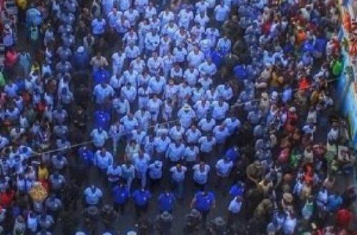 Article : Haïti : marche en hommage aux morts durant le carnaval