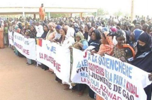 Article : Mali : Gao, les leçons d'une manifestation