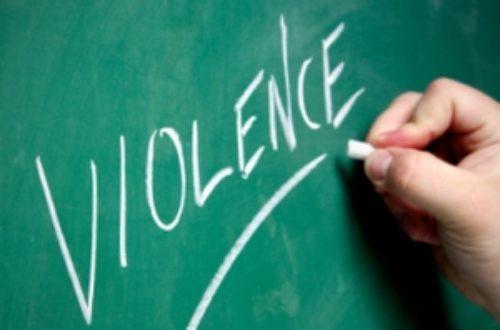 Article : La violence dans l'Histoire