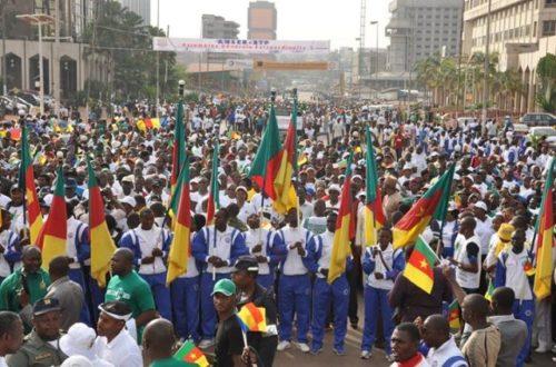 Article : Marche de soutien à l'armée camerounaise: j'y étais