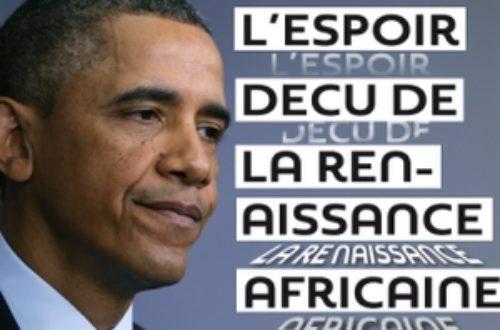 Article : Décollage de l'Afrique: l'illusion Obama
