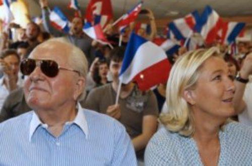 Article : Lorsque les Le Pen se font la guerre, c'est nous qui sommes contents
