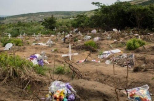 Article : Kinshasa: des cadavres condamnéspour occupation anarchique