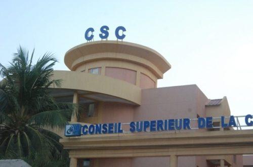 Article : Burkina : le CSC veut bâillonner la liberté d'expression