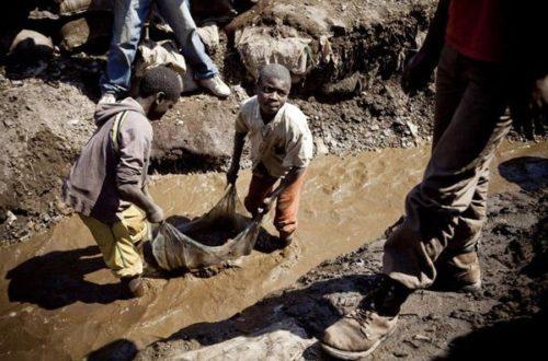 Article : En RDC, des enfants travaillent dans les mines de diamant