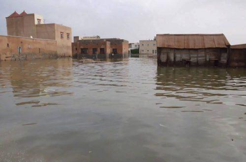 Article : Nouakchott en proie aux inondations