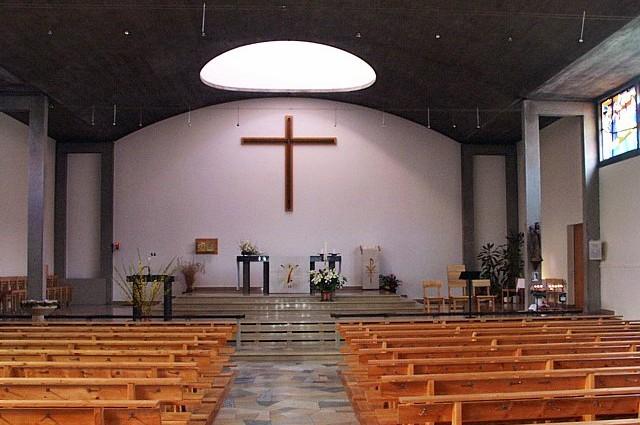 Intérieur Eglise