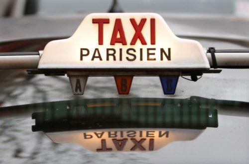 Article : Cher taxi parisien…