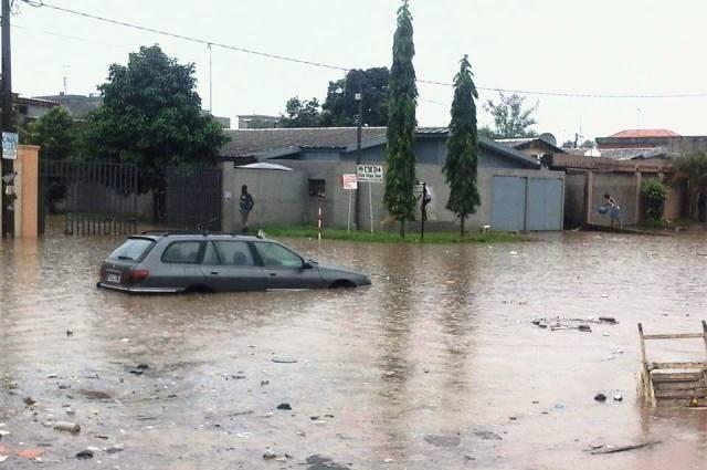 Abidjan sous les eaux