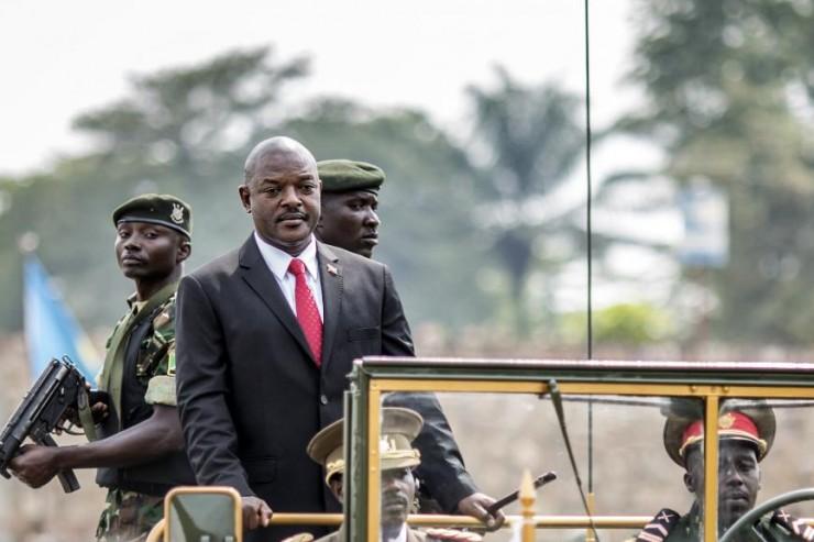 Président Pierre Nkurunziza Burundi