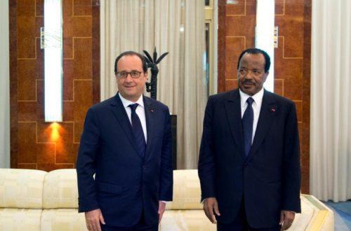 Article : Quatre leçons à tirer de la rencontre Biya-Hollande