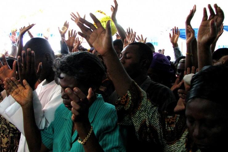 Prière à Douala