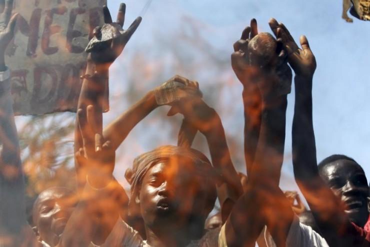 Opposants à Nkurunziza au Burundi