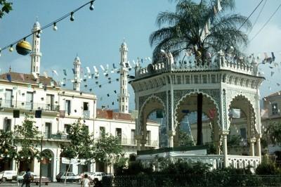 Ville de Blida en Algérie
