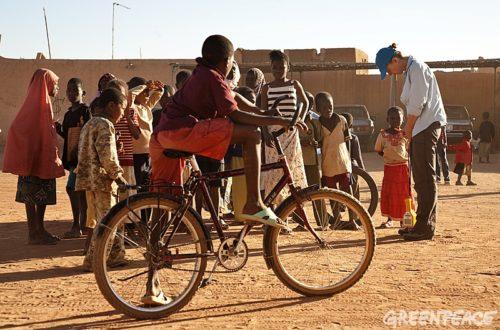 Article : Le vélo, lui  sauve sa scolarité !