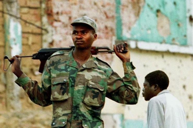 Soldat en Angola