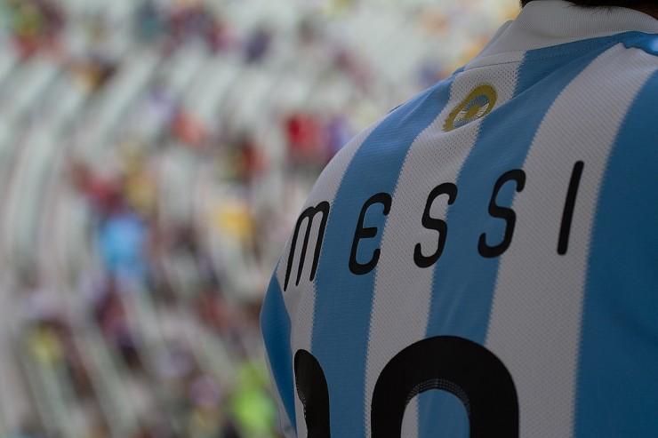 Maillot de Messi