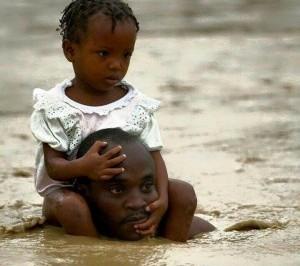 Innondations à Douala