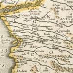 Vieille carte Congo