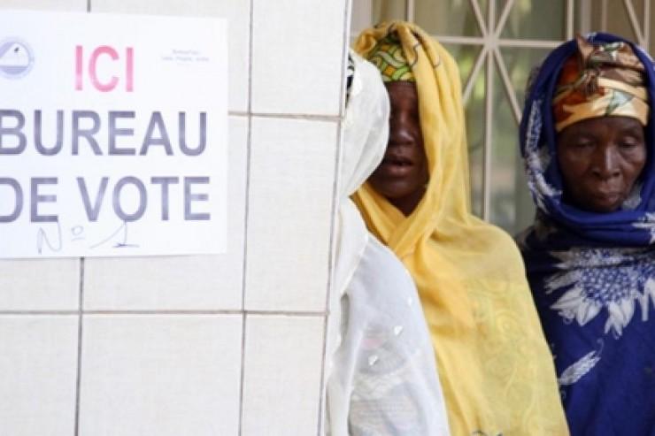 Bureau de vote Burkina Faso
